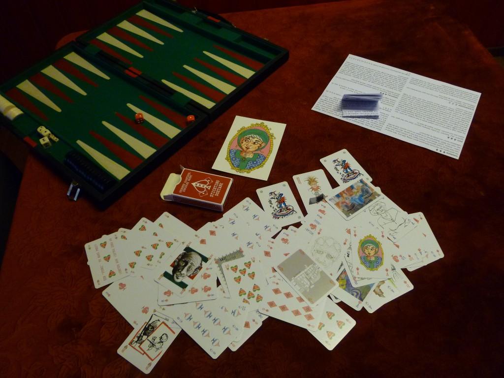 Het ouderen kaartspel
